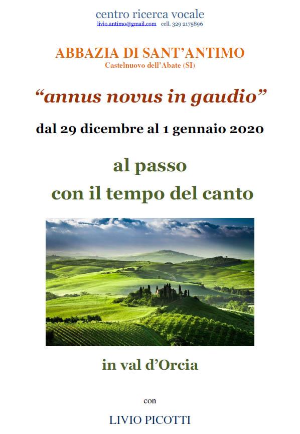 ANNUS NOVUS IN GAUDIO